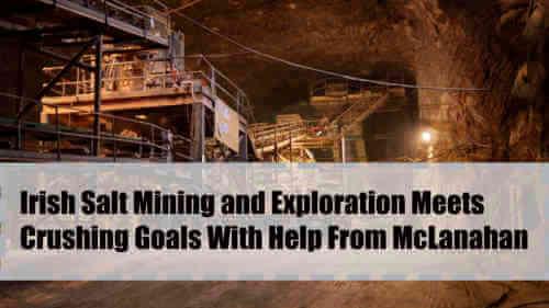 Irish Salt Mining and Exploration Testimonial On Roll Crushers