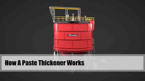 How A Paste Thickener Works 3-D Video