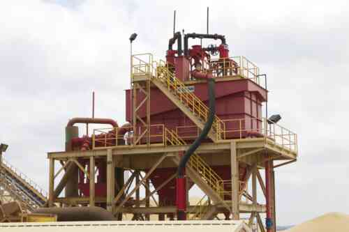 Taylor Frac Sand Plant With Thickener