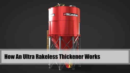 How An Ultra Rakeless Thickener Works Video