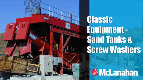Classic Equipment - Sand Tanks & Screw Washers