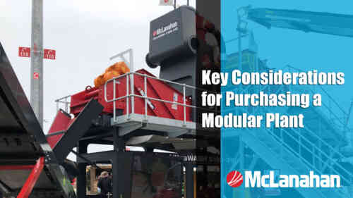 Key Considerations for Purchasing a Modular Plant