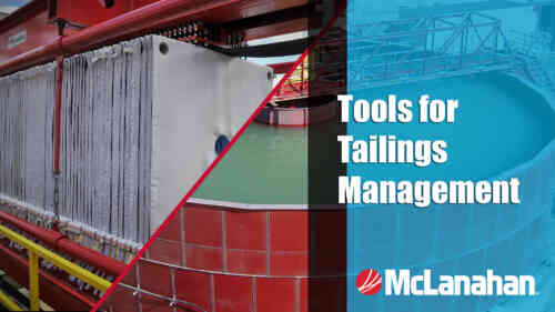 Tools for Tailings Management