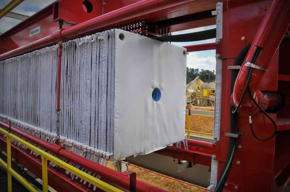 Tailings Management Filter Press