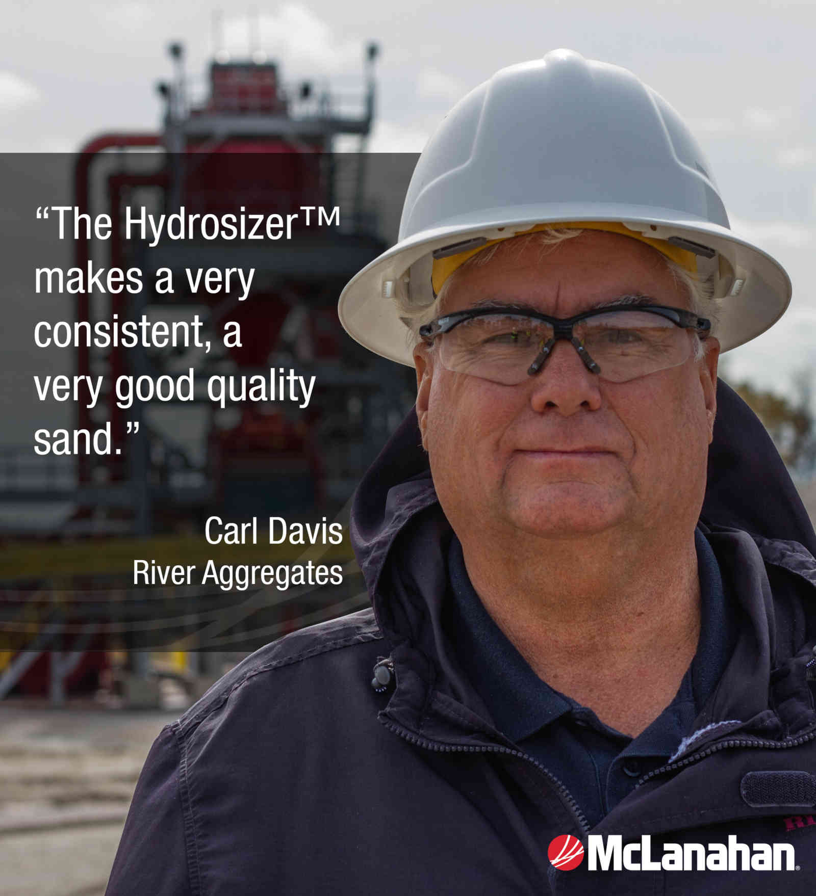 McLanahan Hydrosizer™ Gives River Aggregates Competitive Edge
