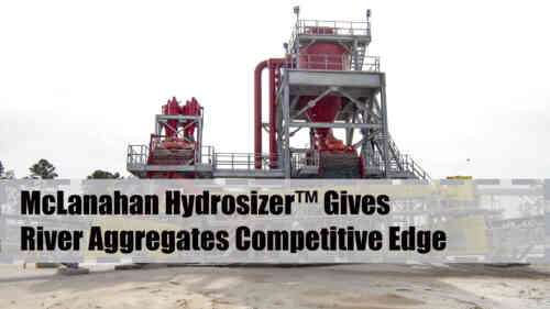 Hydrosizer™ Gives River Aggregates Competitive Edge
