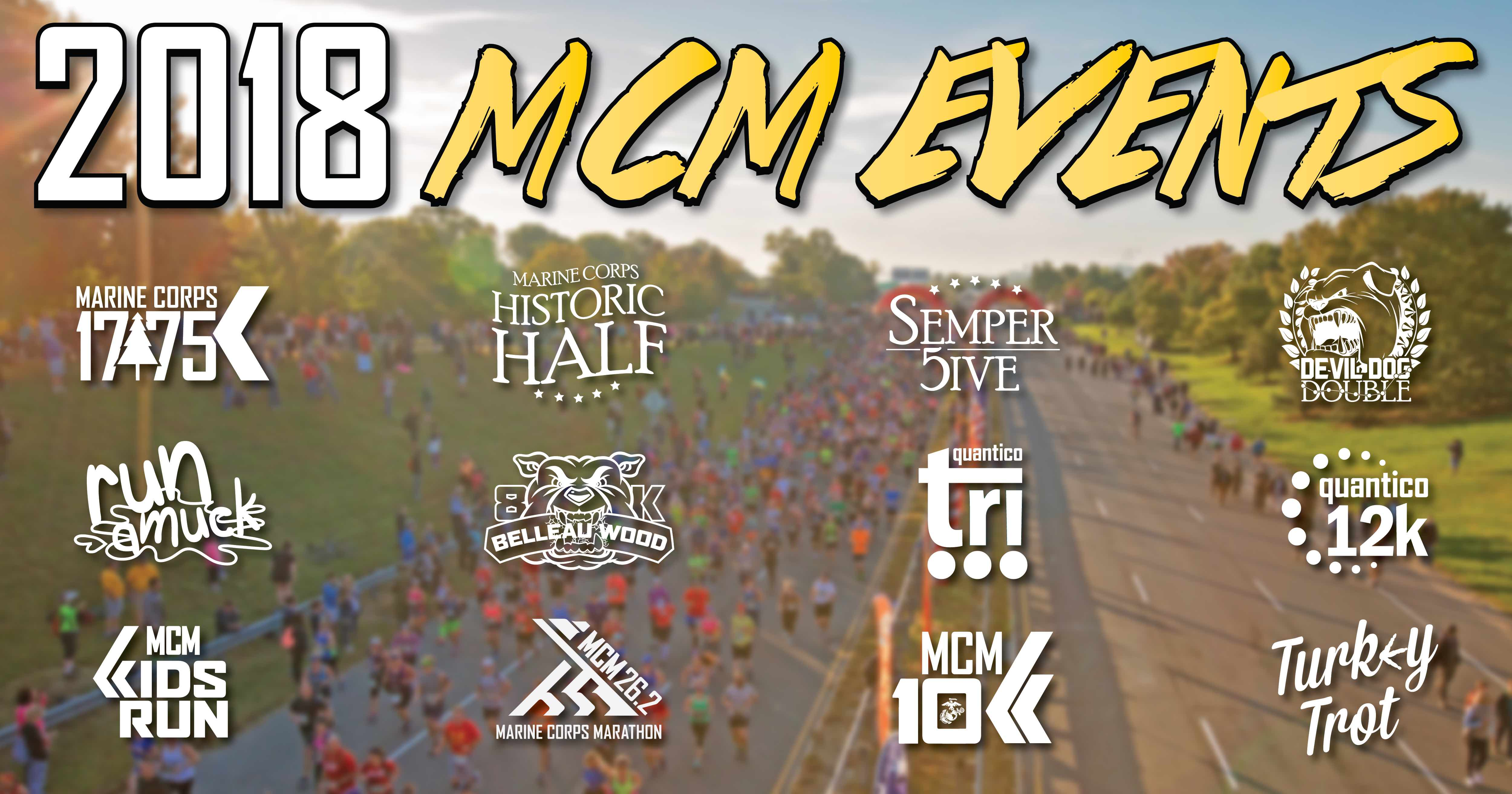 four things to know about 2018 mcm events marine corps marathon