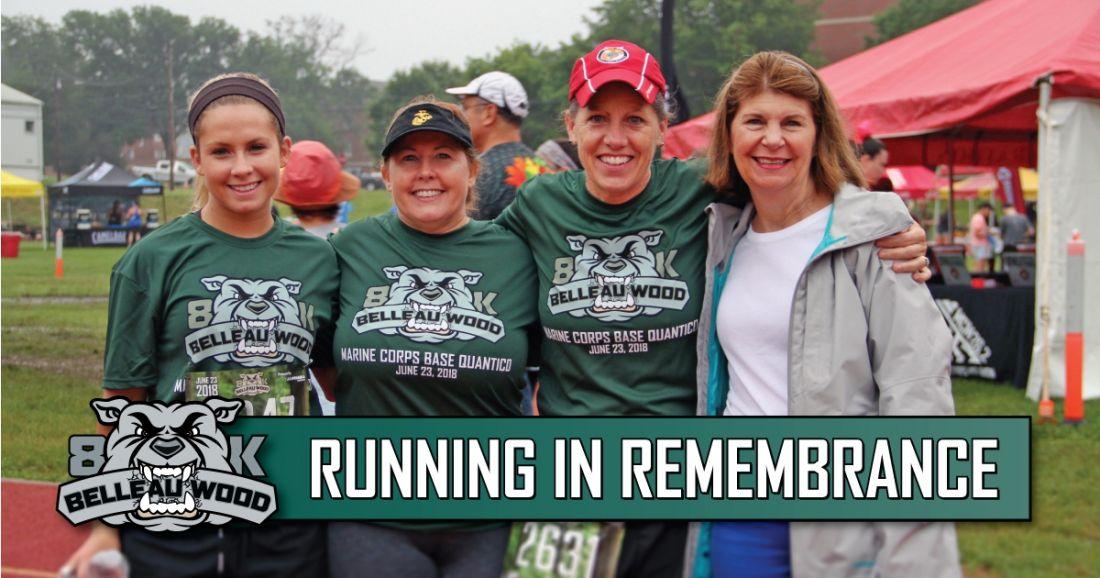 Belleau Wood Marine Corps Marathon Quantico Virginia Marathon