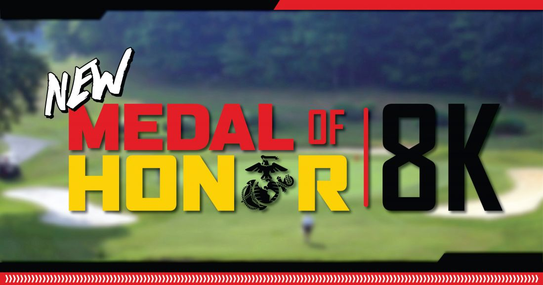 medal of honor  golf course  8k running marathon quantico marine corps base