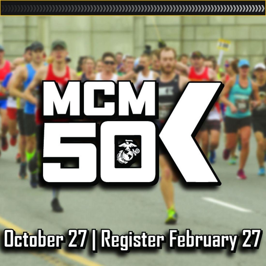 marine corps marathon 50k arlington virginia running