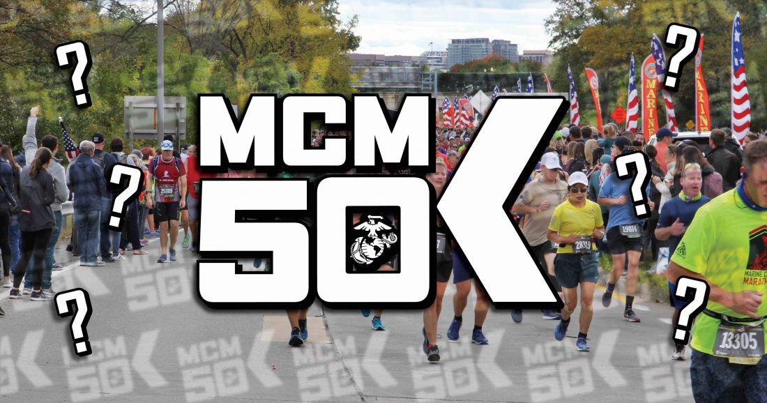 Marine Corps Marathon 50K New Event