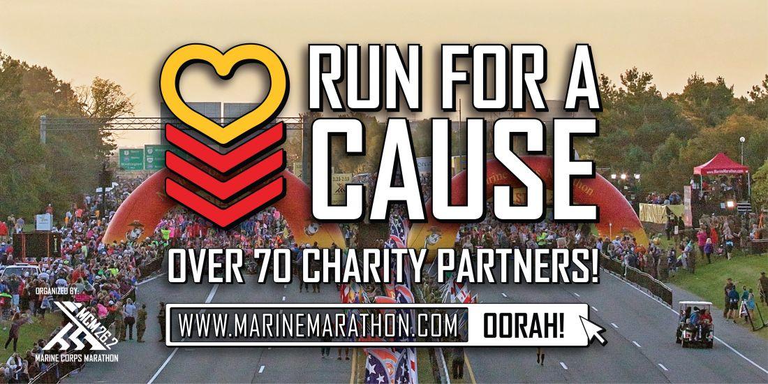 Marine Corps Marathon Charity Program