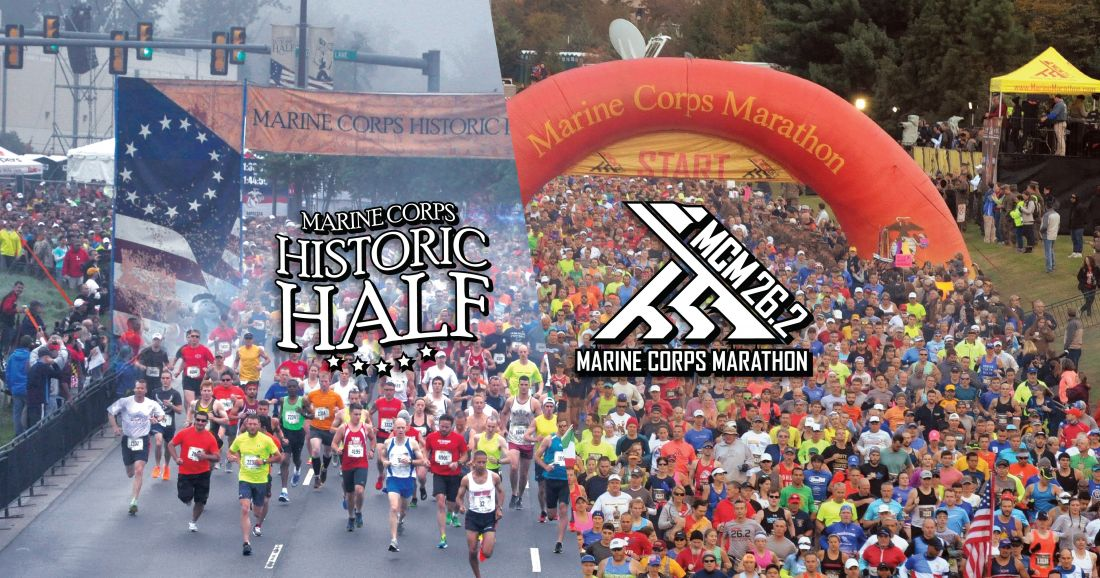 Run with the Marines at the Historic Half and the Marine Corps Marathon
