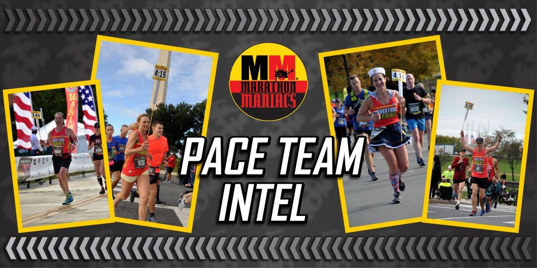 Marine Corps Marathon Pace Team