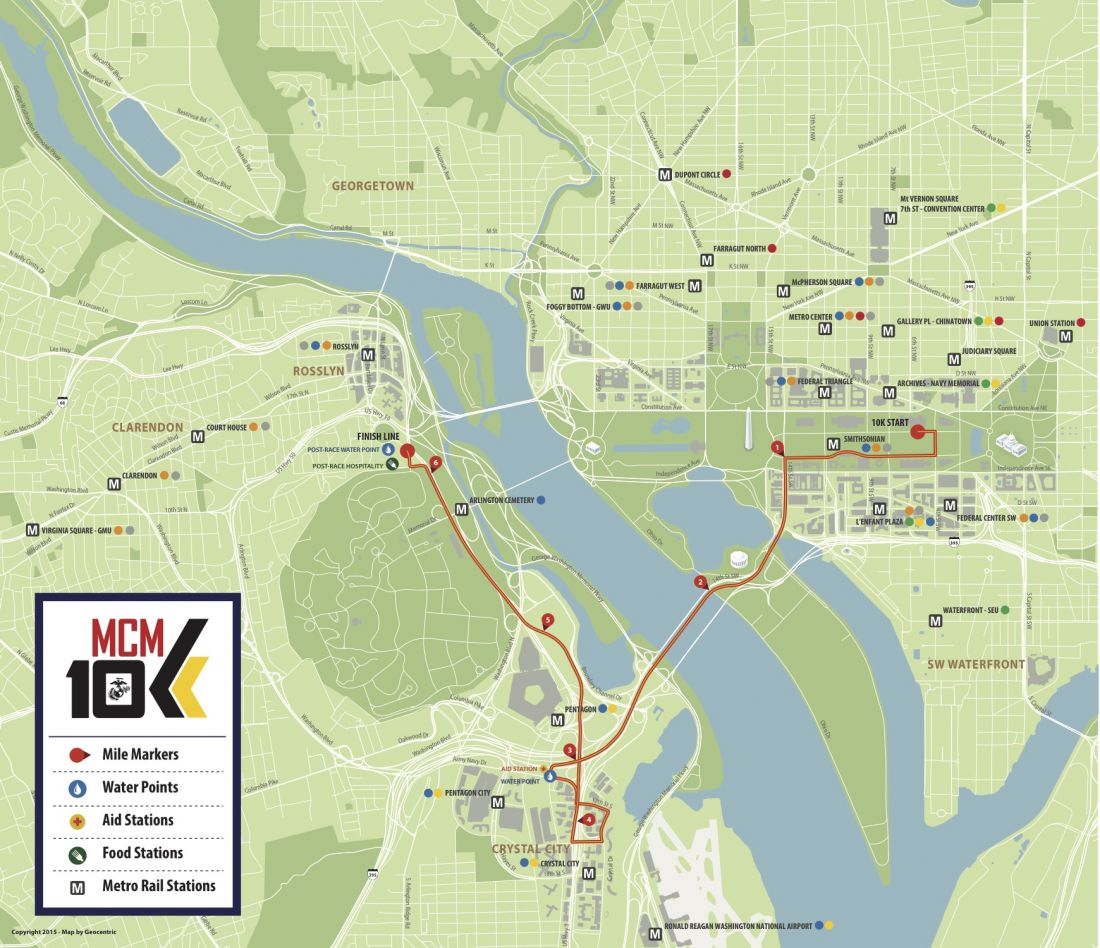 Marine Corps Marathon 10k