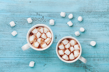 Hot cocoa, a wonderful holiday treat can unfortunately spike blood sugar and cause acne breakouts
