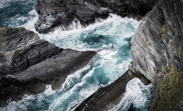 Water At Cliffs Of Kerry