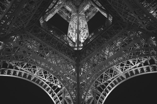 Underside Of Eiffel Tower