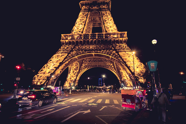 Street View - Eiffel Tower