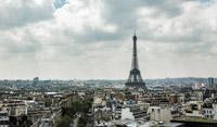 Eiffel Tower from Arc De Triomph