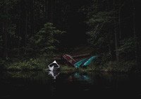 Canoes - Three Lakes