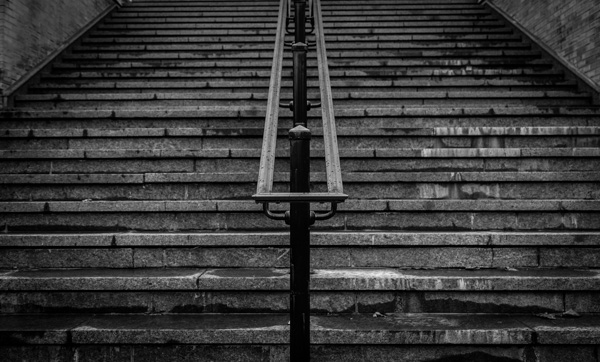 Stairs - Black & White