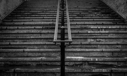 Stairs - Black & White