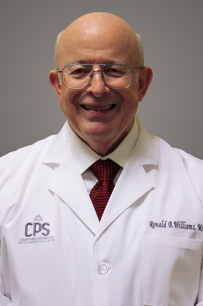 Ronald B Williams, MD