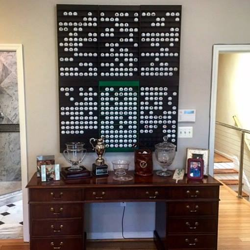 Office Pictures For Walls Golf: Golf Ball Display Rack (104 Balls)