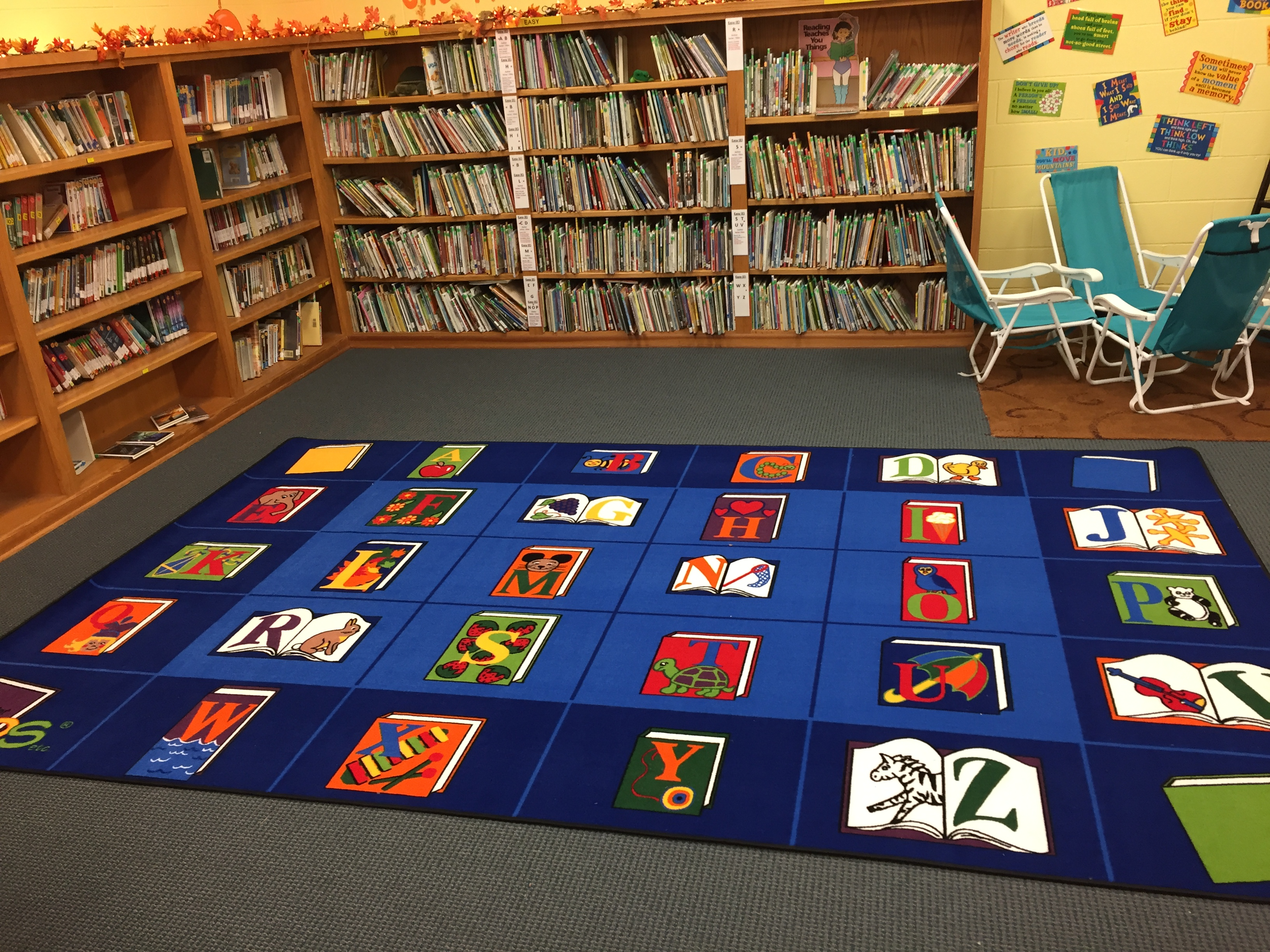 Reading By The Book Classroom Rug 7 6 X 12 Carpets For