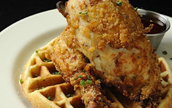 201309-w-best-chicken-and-waffles-trinas-starlite-lounge