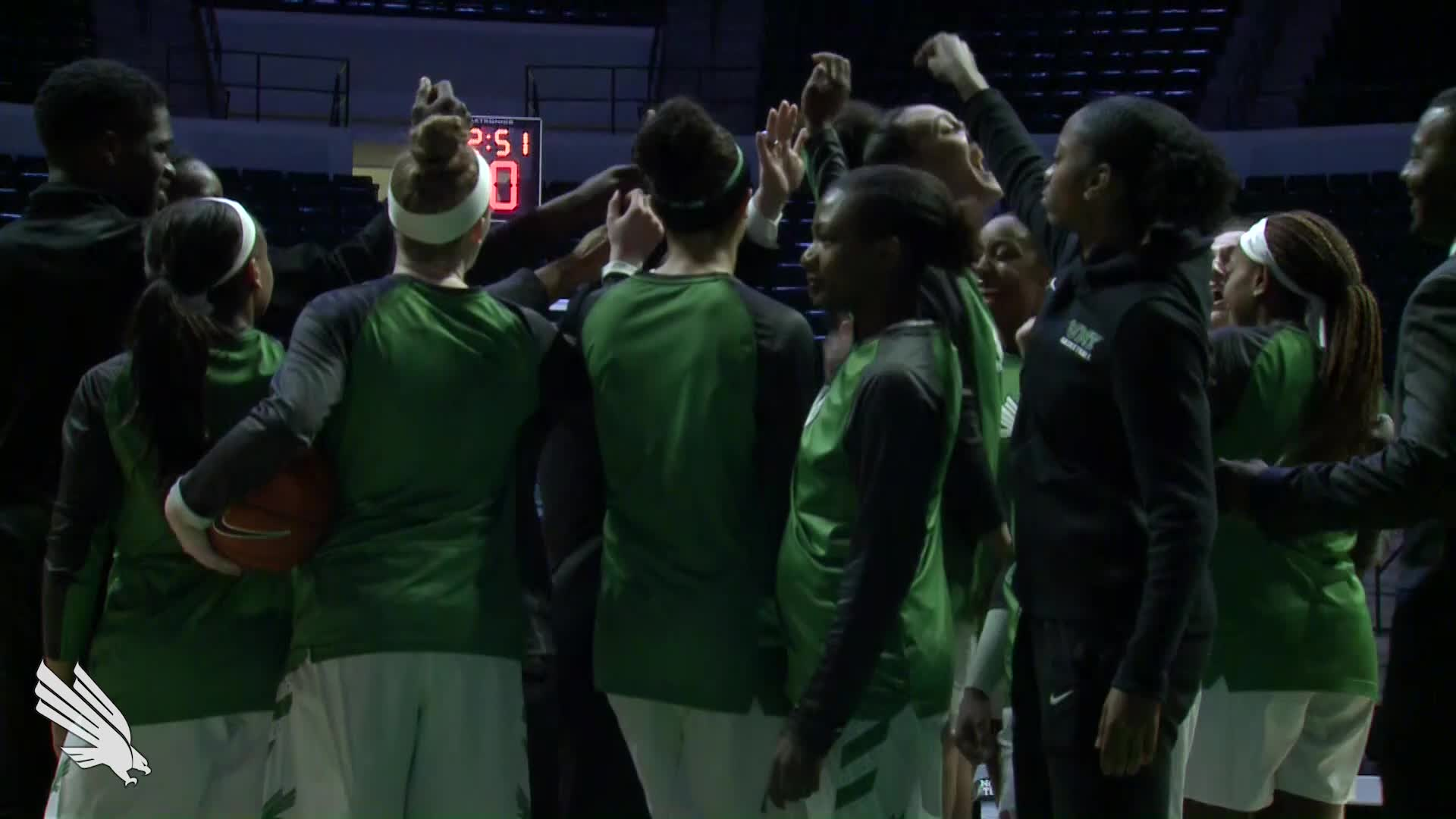 North Texas WBB: Highlights vs UTEP 01/10/19