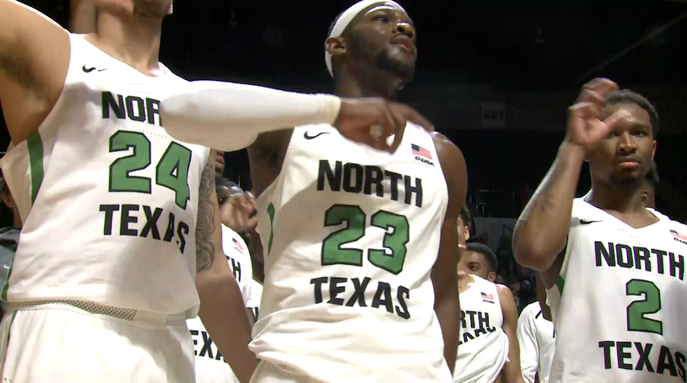 North Texas MBB: Highlights vs Rice 01/19/19