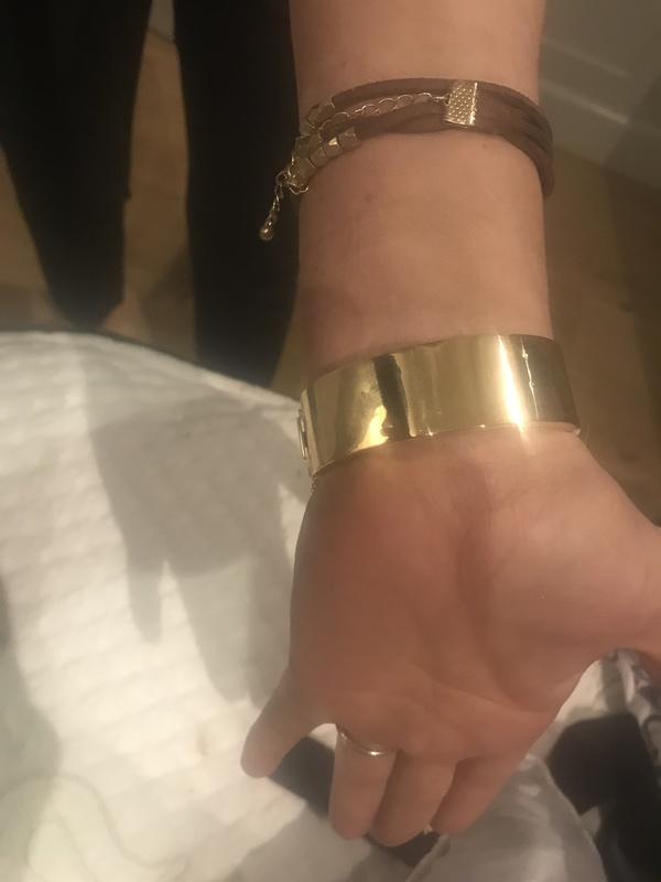 Gold and Diamond bracelet priced at $7500