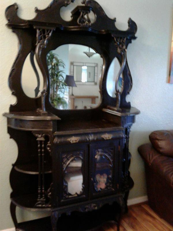 1800's Ornate Hutch