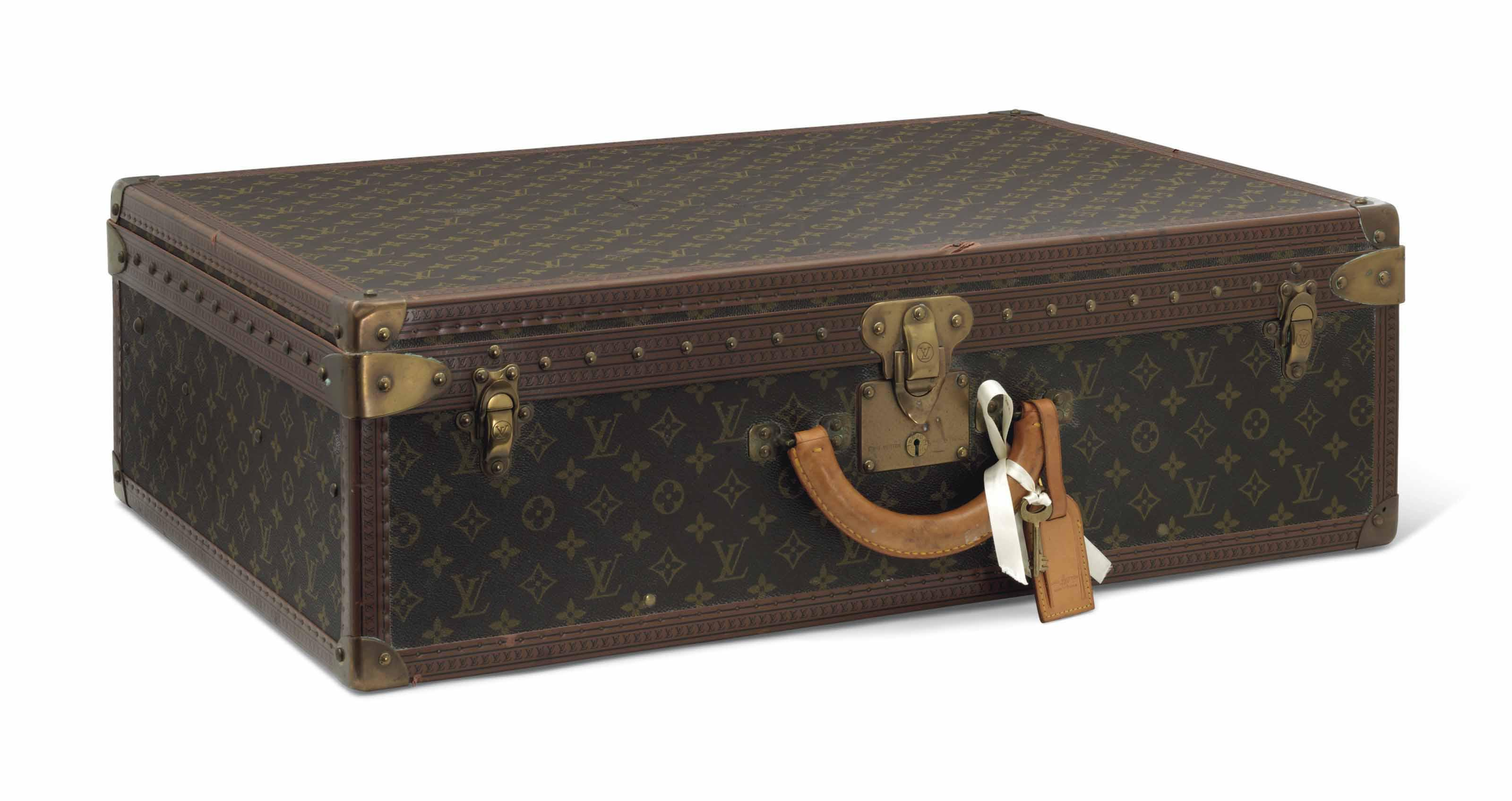 bf76a6e5289c Auction results for Louis Vuitton Luggage