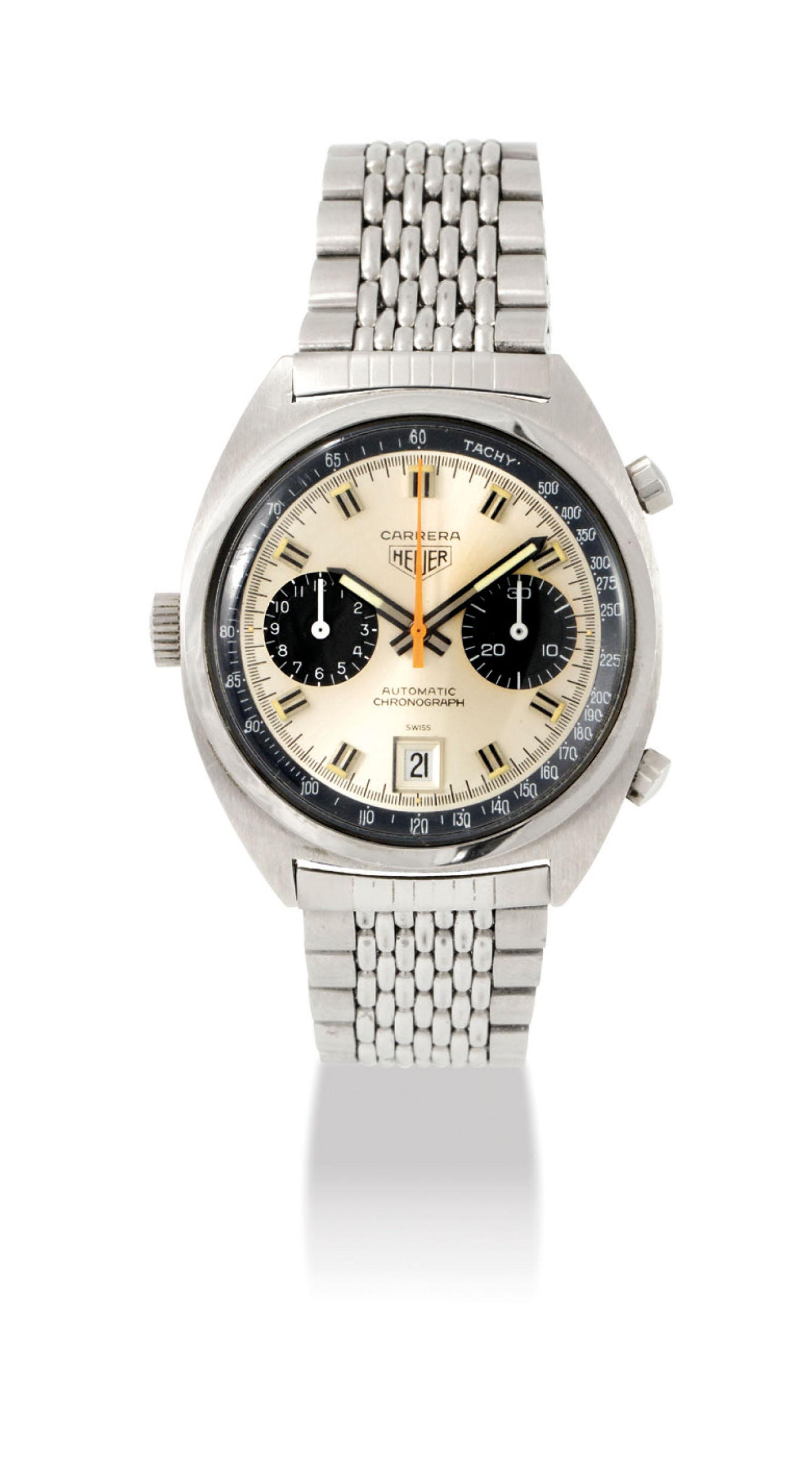 91d041a55e59 Auction results for heuer carrera