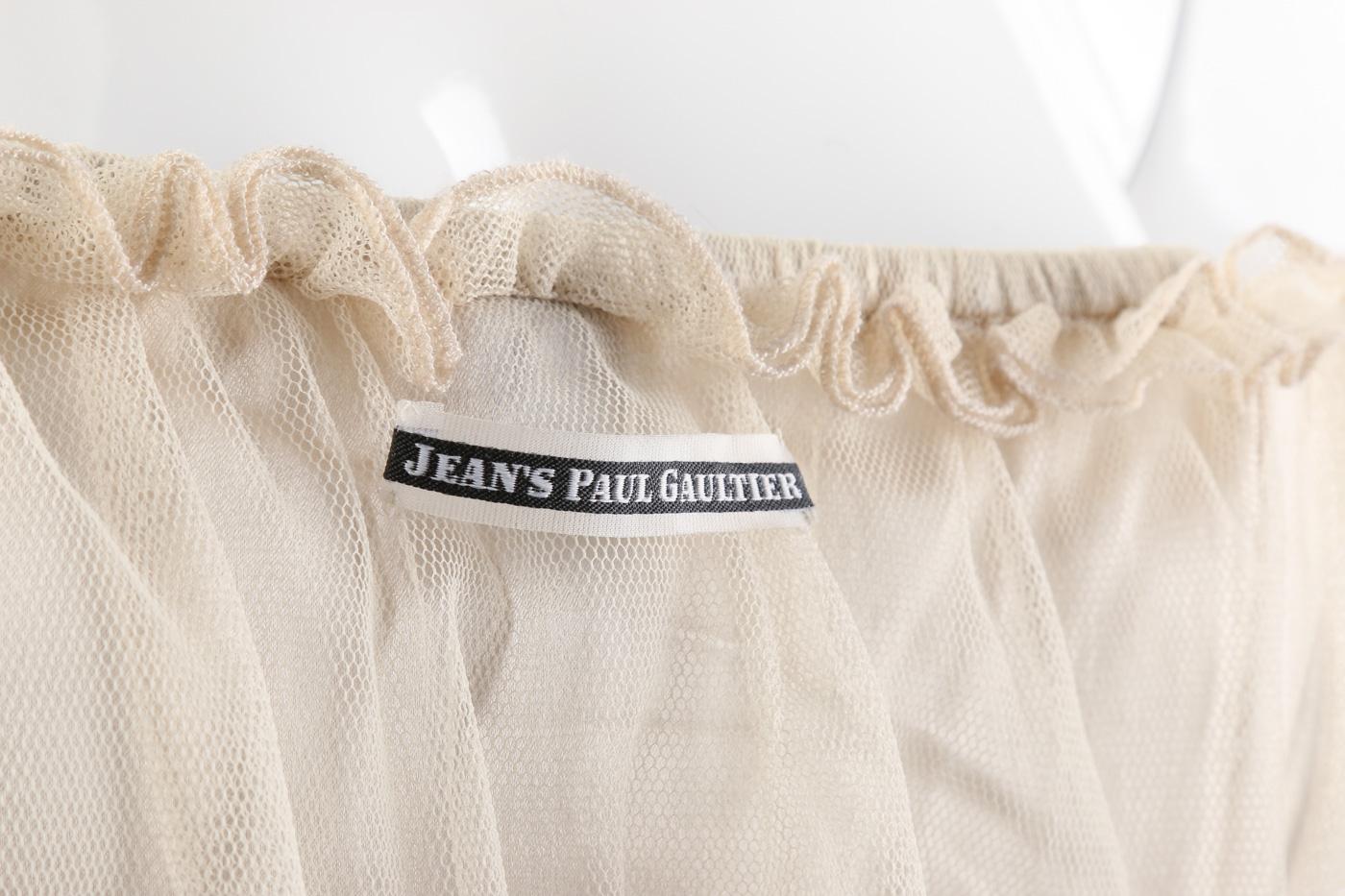 Jean Paul Gaultier. Corsage. Str. M