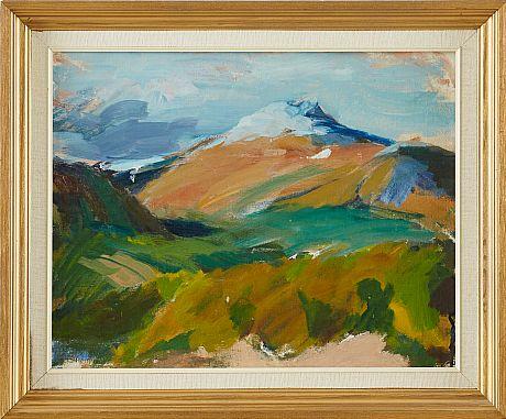 Sixten Lundbom oil painting