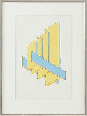 Oscar Reuterswärd lithographs
