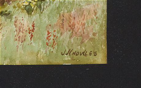 Juliet Knowles watercolor