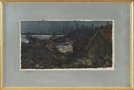 Roland Svensson lithography