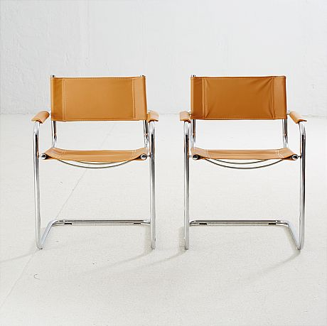 Chairs by Marcel Breuer
