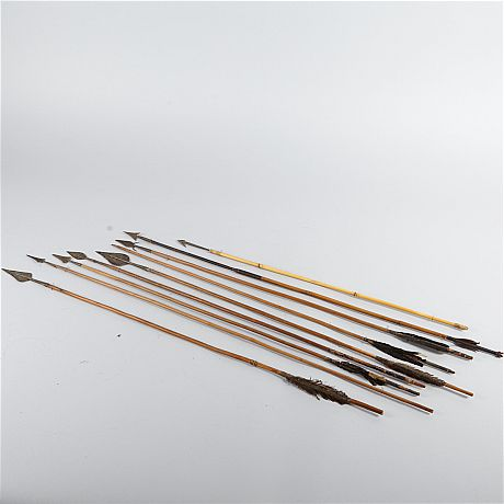 Arrows with forged tips