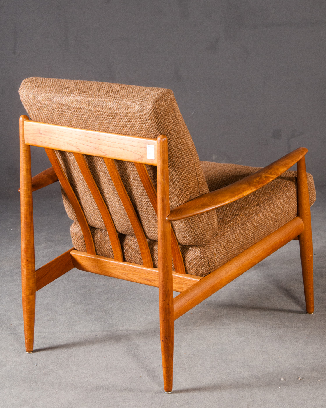 Grete Jalk, lounge chairs in teak for France & Søn