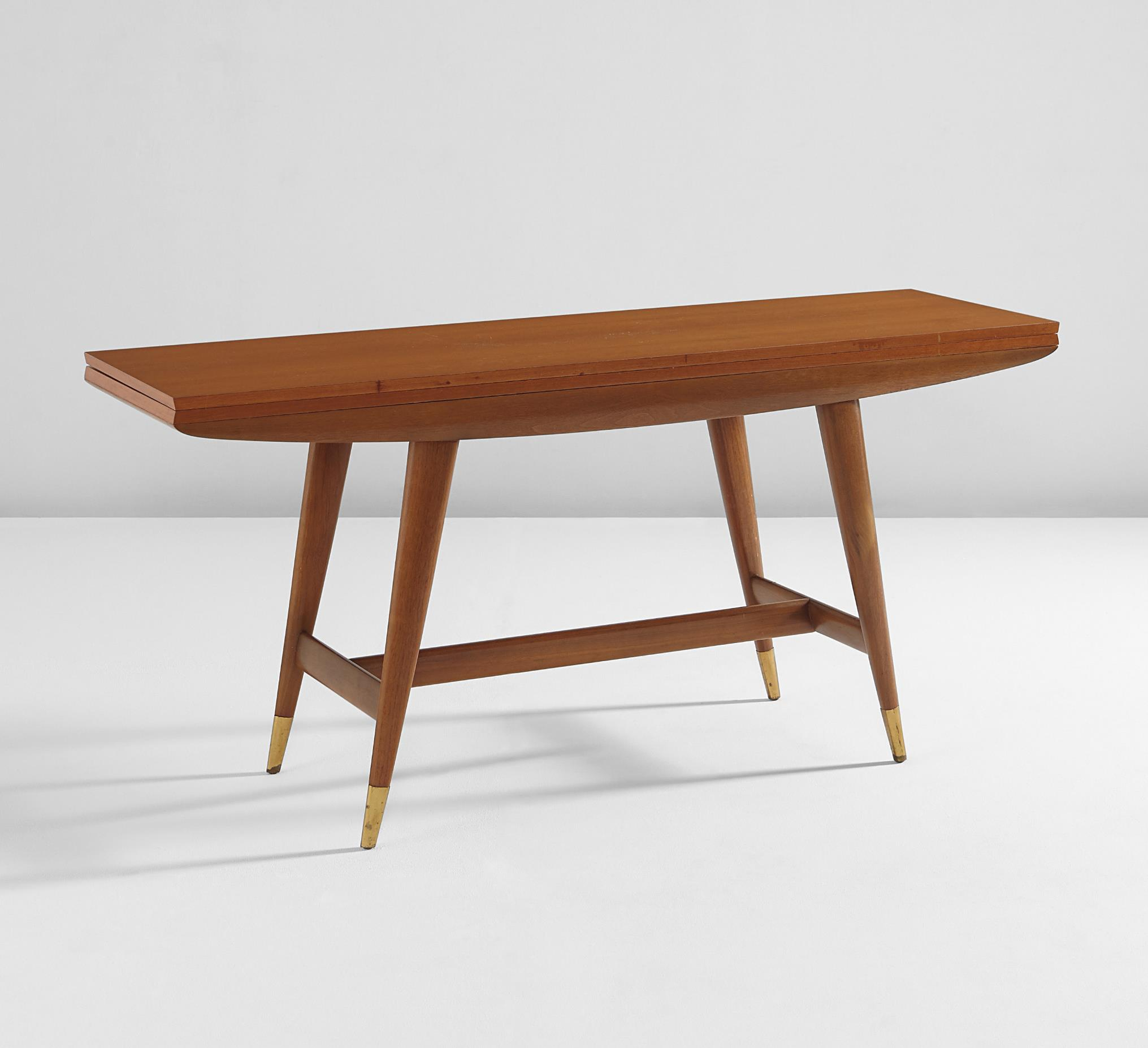 Gio Ponti Extendable console table, model no. 2134, 1950s