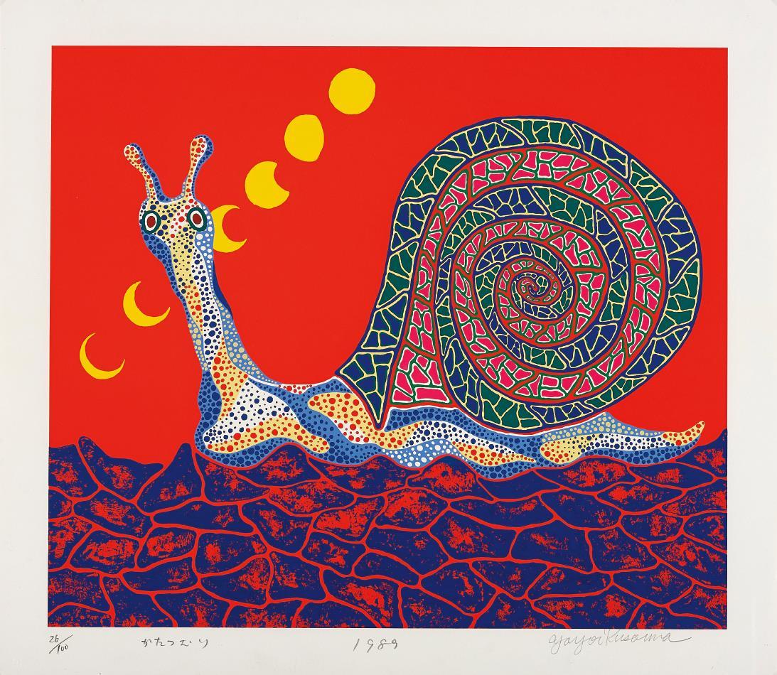 Yayoi Kusama Snail, 1989