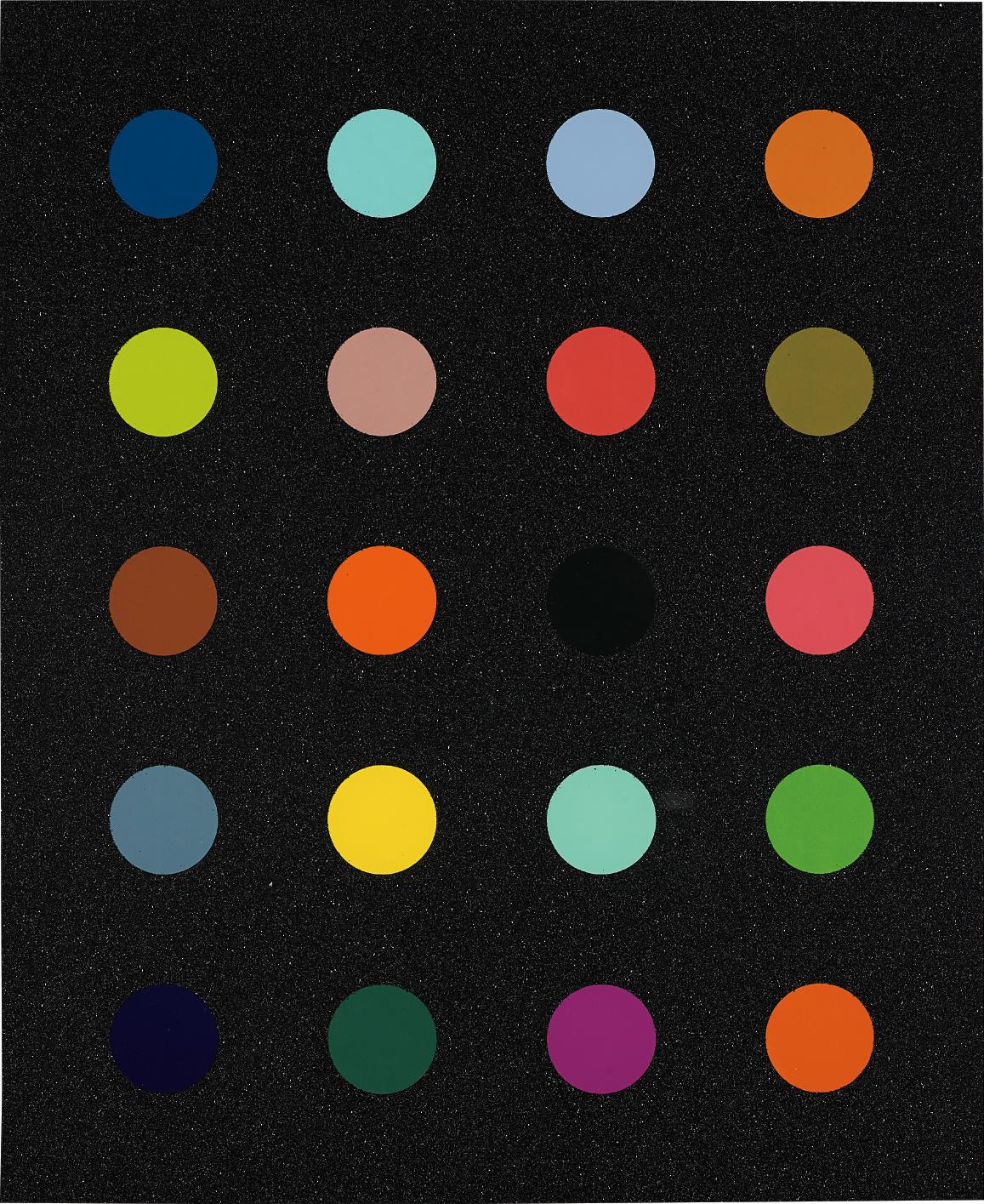 Damien Hirst Methylamine-13c, 2014
