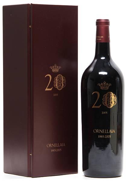 1 bt. Mg. Ornellaia, Tenuta dell'Ornellaia, Bolgheri 2005 A (hf/in). Owc.
