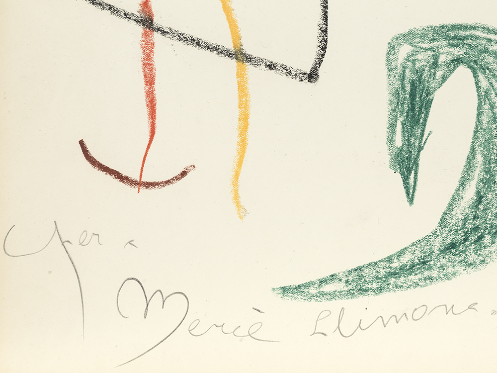 Joan Miró (1993-1983), Untitled, Drawing, 1964